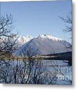 Alpine Lake Metal Print by Mats Silvan