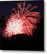 4th Of July Fireworks - 011311 Metal Print by DC Photographer