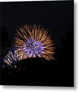 4th Of July Fireworks - 011315 Metal Print by DC Photographer