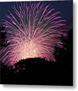 4th Of July Fireworks - 01132 Metal Print by DC Photographer