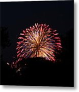 4th Of July Fireworks - 011322 Metal Print by DC Photographer