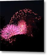 4th Of July Fireworks - 011325 Metal Print by DC Photographer