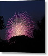 4th Of July Fireworks - 01133 Metal Print by DC Photographer