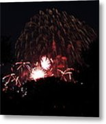 4th Of July Fireworks - 011333 Metal Print by DC Photographer