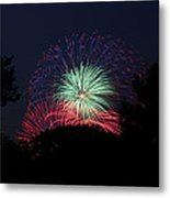 4th Of July Fireworks - 01137 Metal Print by DC Photographer