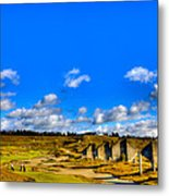 #18 At Chambers Bay Golf Course  Metal Print by David Patterson