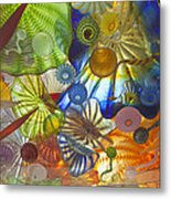 Glass Art. Metal Print by Gino Rigucci