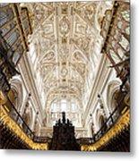 Mezquita Cathedral Interior In Cordoba Metal Print by Artur Bogacki