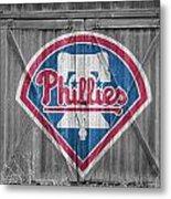 Philadelphia Phillies Metal Print by Joe Hamilton
