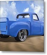 56 Studebaker Truck Metal Print by Mike McGlothlen