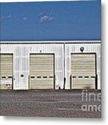 6 7 8 9 Warehouse  Metal Print by JW Hanley