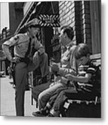 Andy Griffith Metal Print by Retro Images Archive