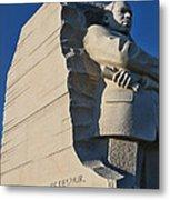 Martin Luther King Jr. Memorial Metal Print by Allen Beatty