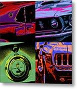 '69 Mustang Metal Print by Gordon Dean II