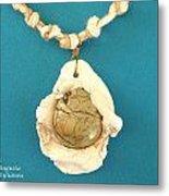 Aphrodite Antheia Necklace Metal Print by Augusta Stylianou