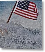 Stars And Stripes Metal Print by Steven Lapkin