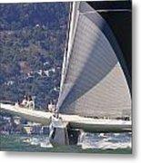 San Francisco Sailing Metal Print by Steven Lapkin