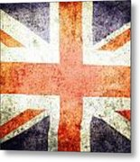 Union Jack  Metal Print by Les Cunliffe