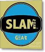 Slam One Gear Metal Print by James Eye