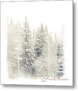 Winter Wonderland. Elegant Knickknacks From Jennyrainbow Metal Print by Jenny Rainbow