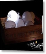 A Better Way Still Life - Thomas Edison Metal Print by Tom Mc Nemar