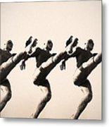 A Chorus Line Metal Print by Bill Cannon