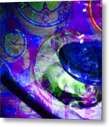 A Cognac Night 20130815m128 Metal Print by Wingsdomain Art and Photography
