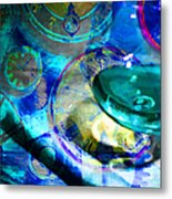 A Cognac Night 20130815m180 Metal Print by Wingsdomain Art and Photography