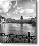 A Day In Lucerne Metal Print by Mountain Dreams