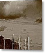 A Delta Storm  Metal Print by Joseph Coulombe