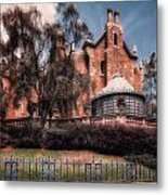 A Haunting House Metal Print by Joshua Minso