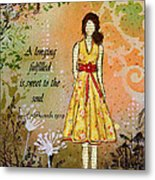 A Longing Fulfilled Metal Print by Janelle Nichol