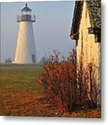 A Morning Fog Metal Print by Catherine Reusch  Daley
