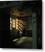 A Peaceful Corner Entrance Metal Print by Guy Ricketts