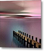 A Perfect Calm Metal Print by Barbara Milton