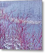 A Railroad Metal Print by Jack Zievis