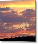 A Remarkable Sky Metal Print by Will Borden
