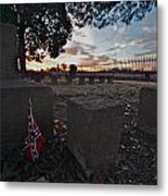A Remembrance At Franklin Metal Print by Kim Kruger
