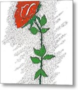 A Rose For You Metal Print by Glenn McCarthy Art and Photography