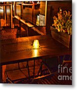 A Single Candle Burns. Metal Print by Paul Ward