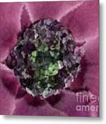 A Sky Full Of Lighters Pink Green Metal Print by Holley Jacobs