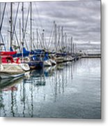 A Storm Was Brewing Metal Print by Heidi Smith