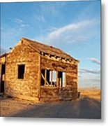 Abandoned - California Desert Metal Print by Glenn McCarthy Art and Photography