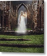 Abbey Ghost Metal Print by Amanda And Christopher Elwell