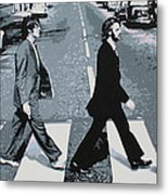 Abbey Road 2013 Metal Print by Luis Ludzska