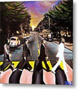 Abbey Road Metal Print by Steve Will