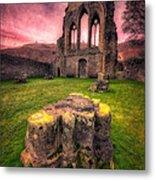Abbey Ruin Metal Print by Adrian Evans