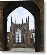 Abbey Ruin - Scotland Metal Print by Mike McGlothlen