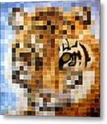 About 400 Sumatran Tigers Metal Print by Charlie Baird