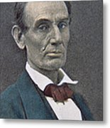 Abraham Lincoln Metal Print by American Photographer